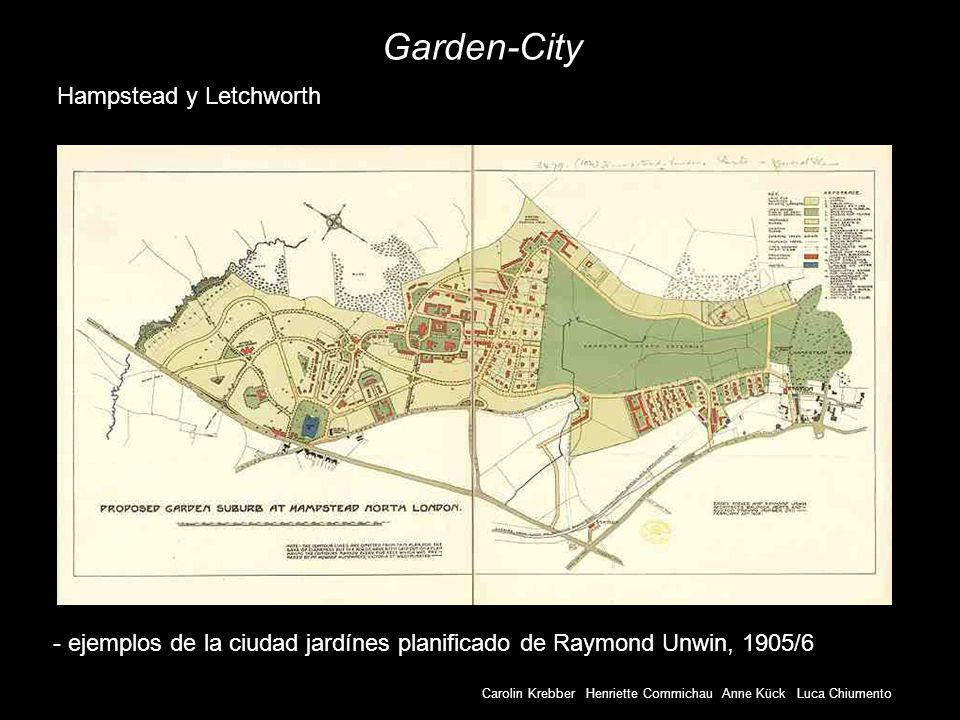 Garden-City Hampstead y Letchworth