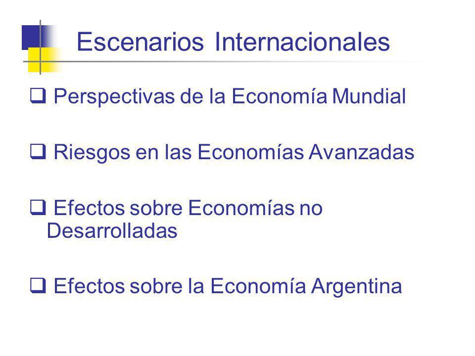 Escenarios Internacionales