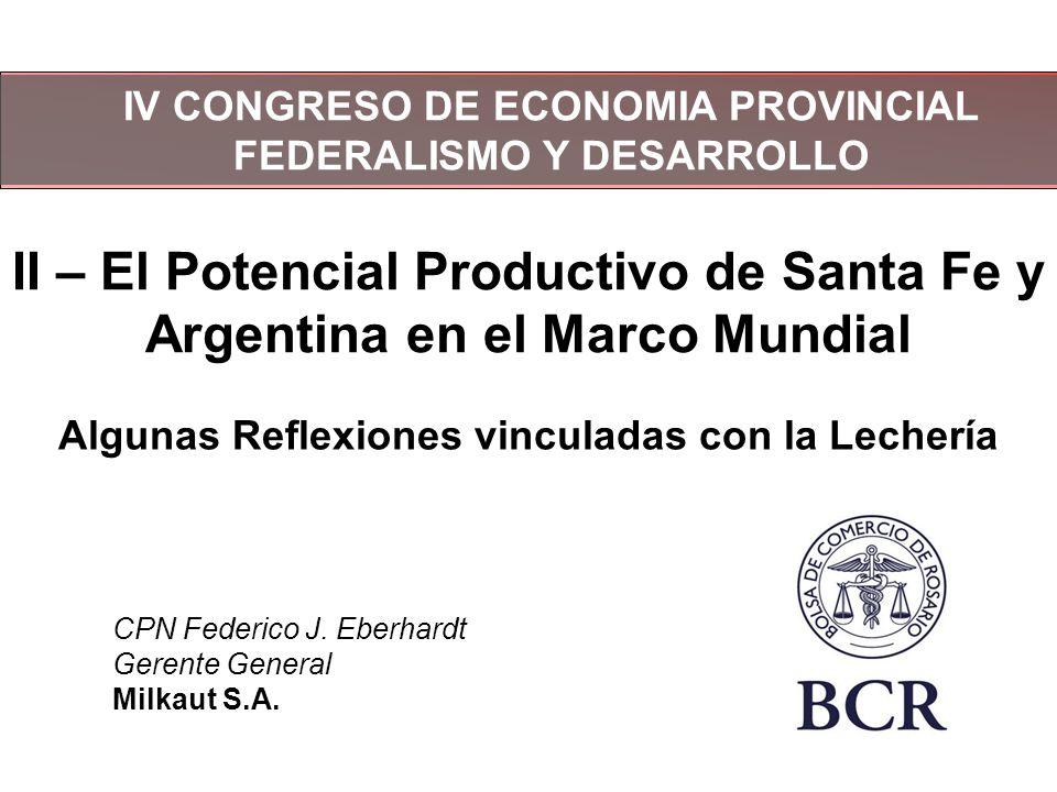 IV CONGRESO DE ECONOMIA PROVINCIAL