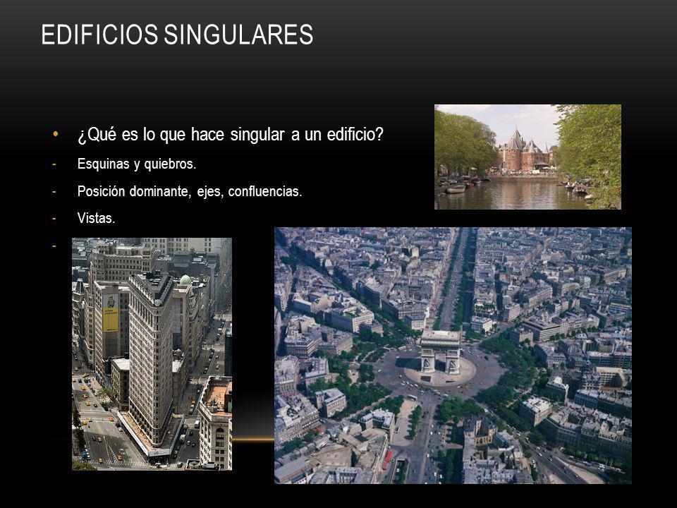 Edificios singulares ¿Qué es lo que hace singular a un edificio