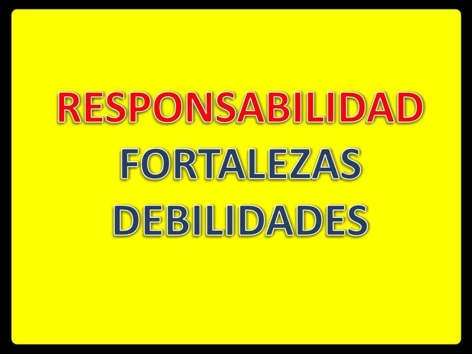 Responsabilidad Fortalezas debilidades