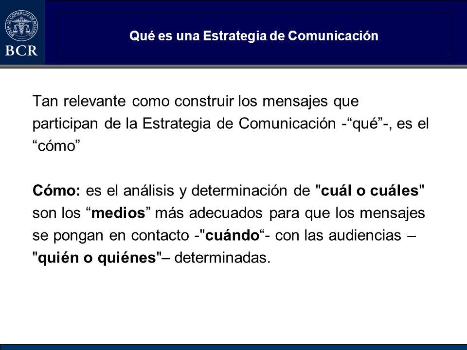 Qué es una Estrategia de Comunicación