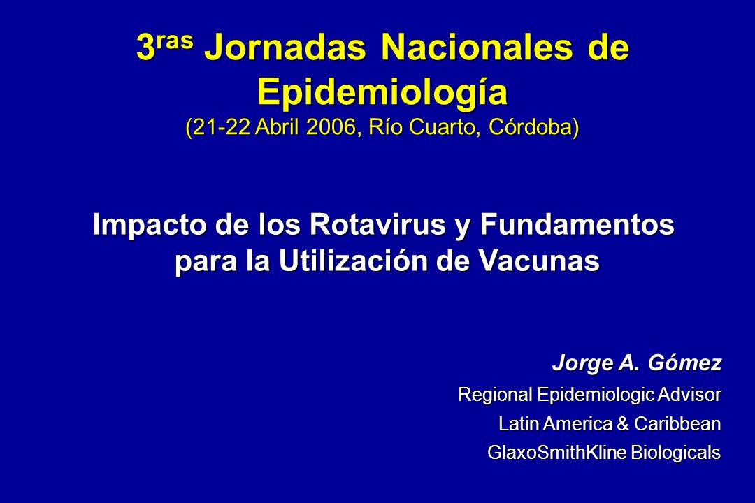 3ras Jornadas Nacionales de Epidemiología