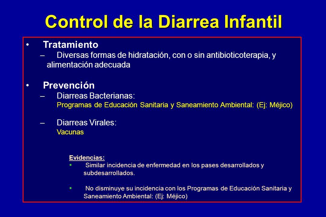Control de la Diarrea Infantil