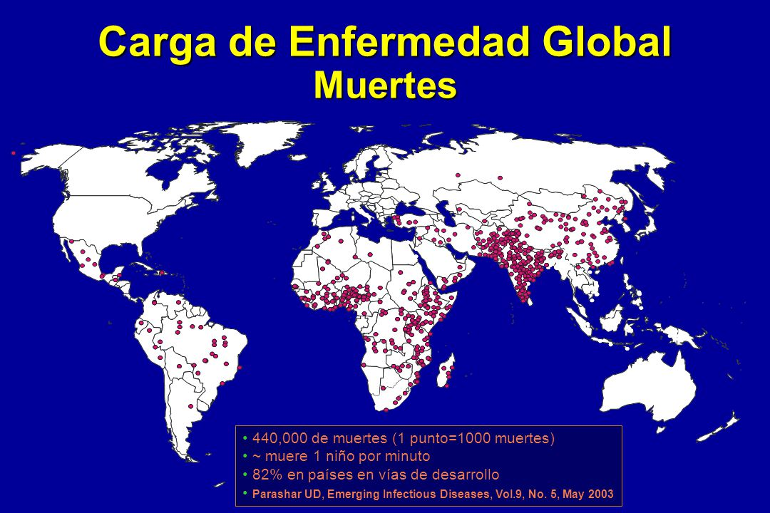 Carga de Enfermedad Global Muertes
