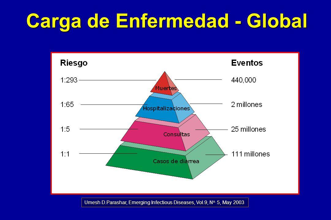 Carga de Enfermedad - Global