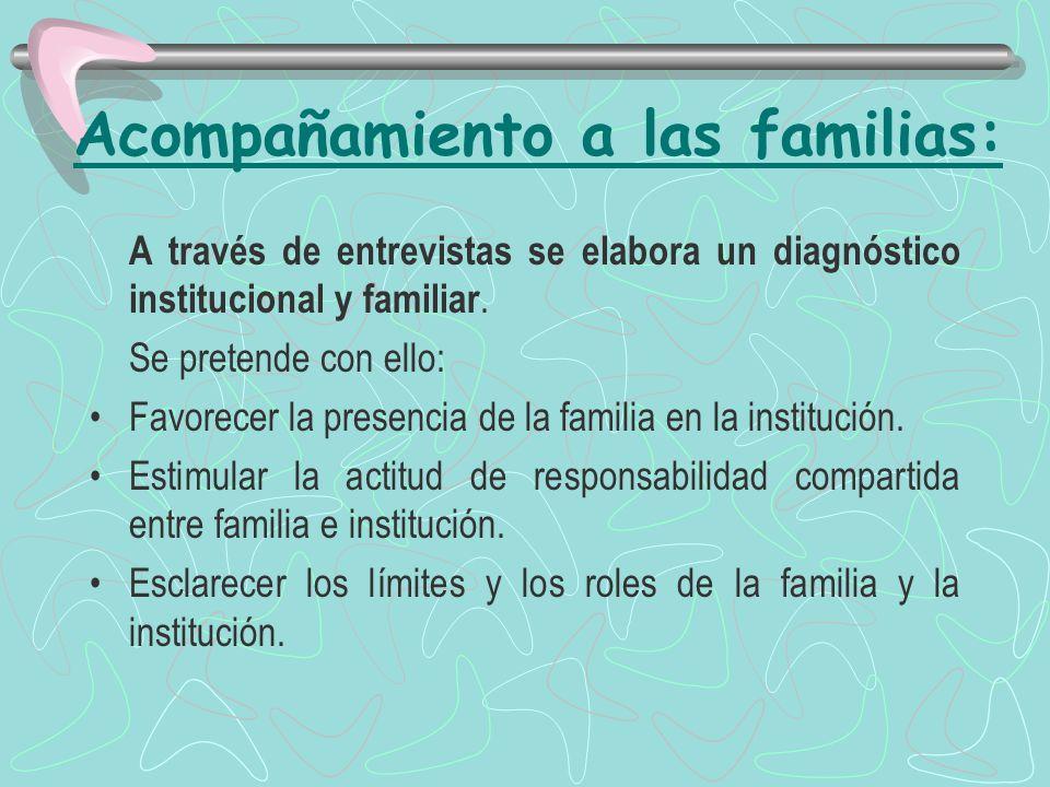 Acompañamiento a las familias: