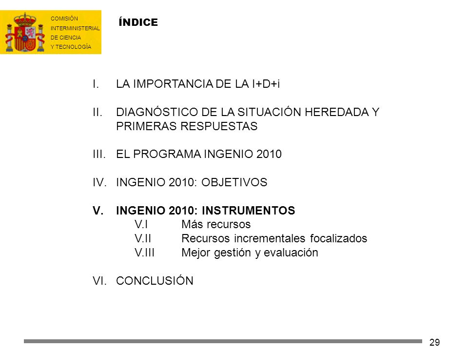 LA IMPORTANCIA DE LA I+D+i