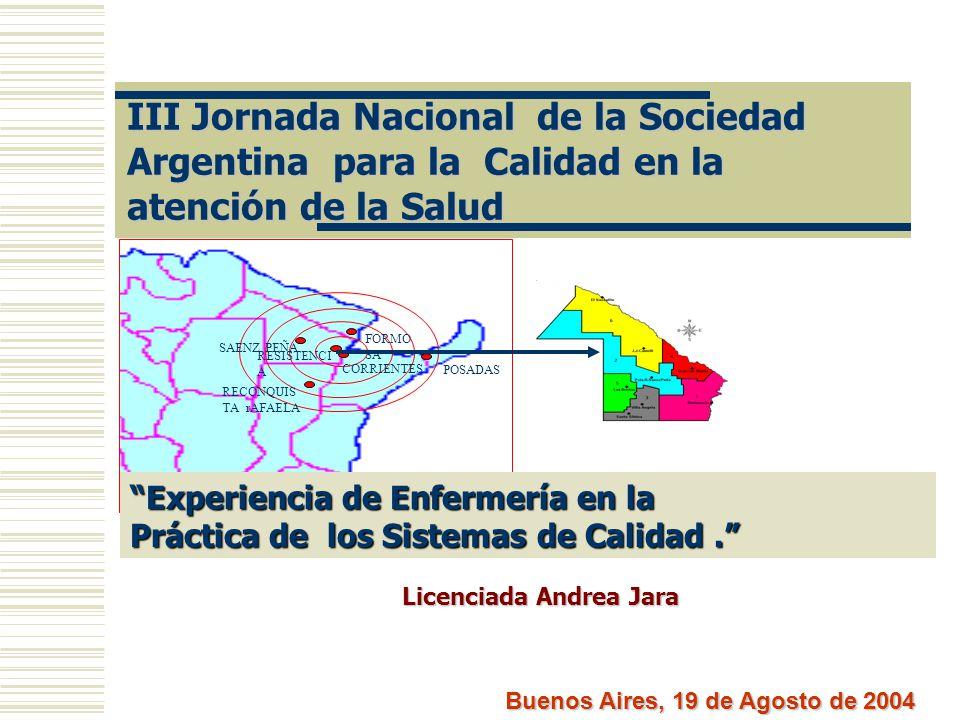 Licenciada Andrea Jara Buenos Aires, 19 de Agosto de 2004