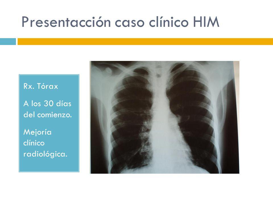 Presentacción caso clínico HIM