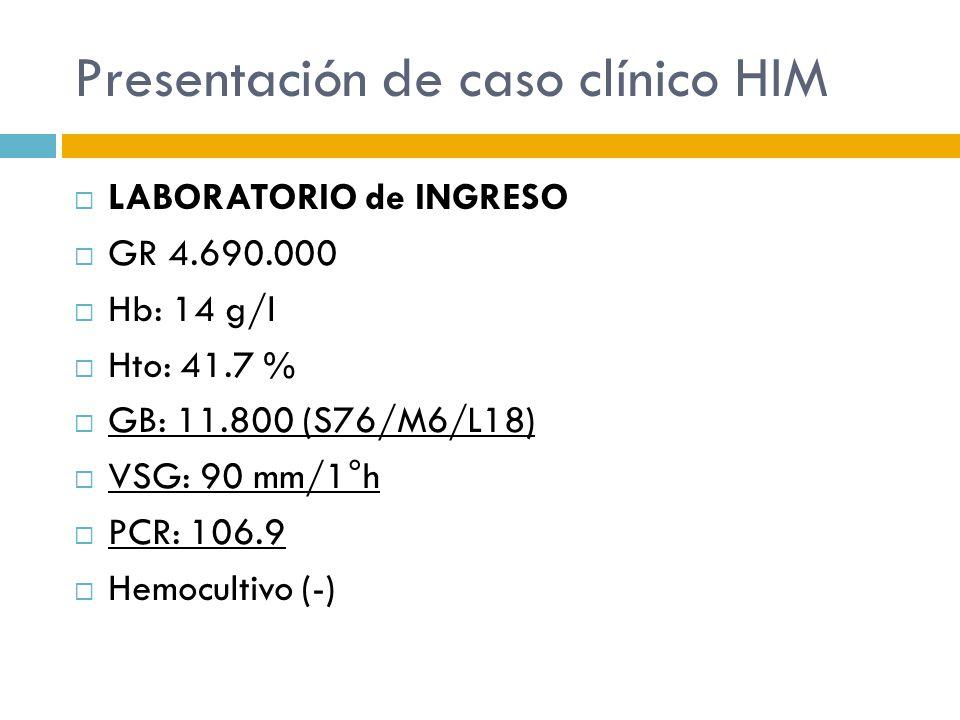Presentación de caso clínico HIM