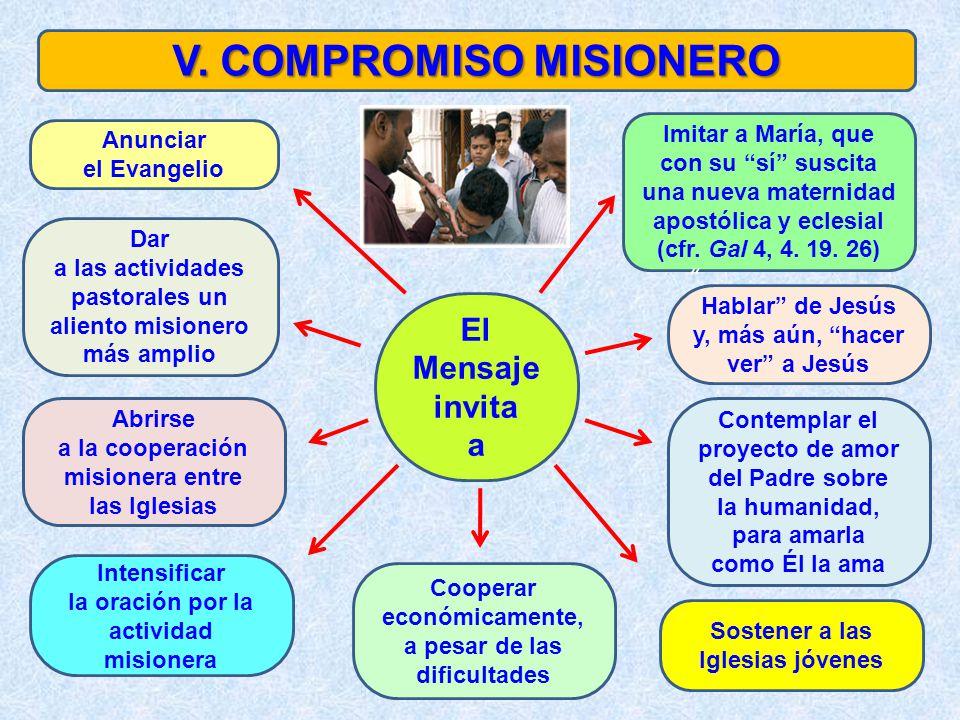 V. COMPROMISO MISIONERO