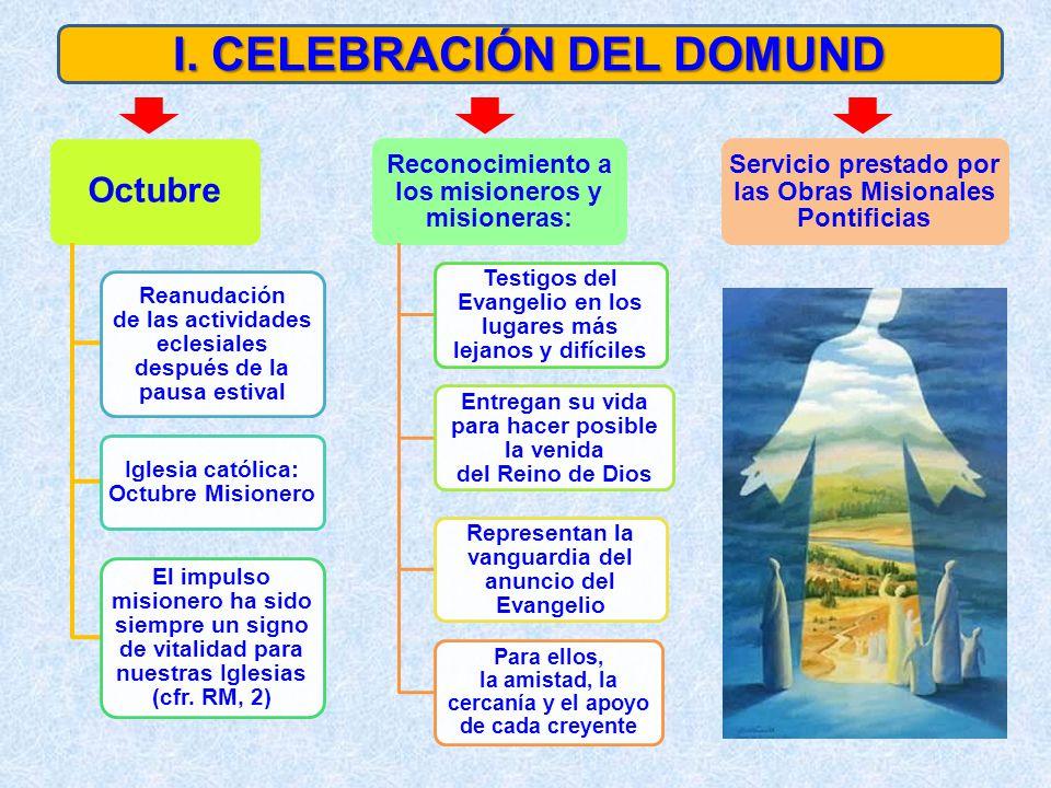 I. CELEBRACIÓN DEL DOMUND