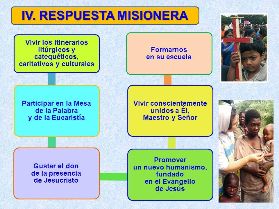 IV. RESPUESTA MISIONERA
