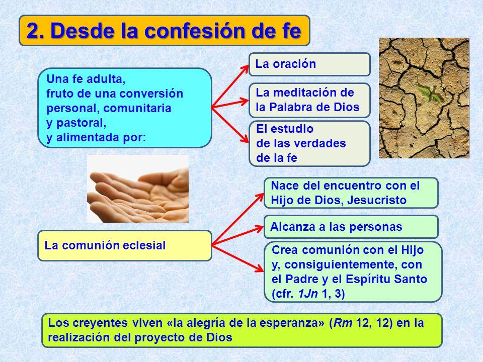 2. Desde la confesión de fe