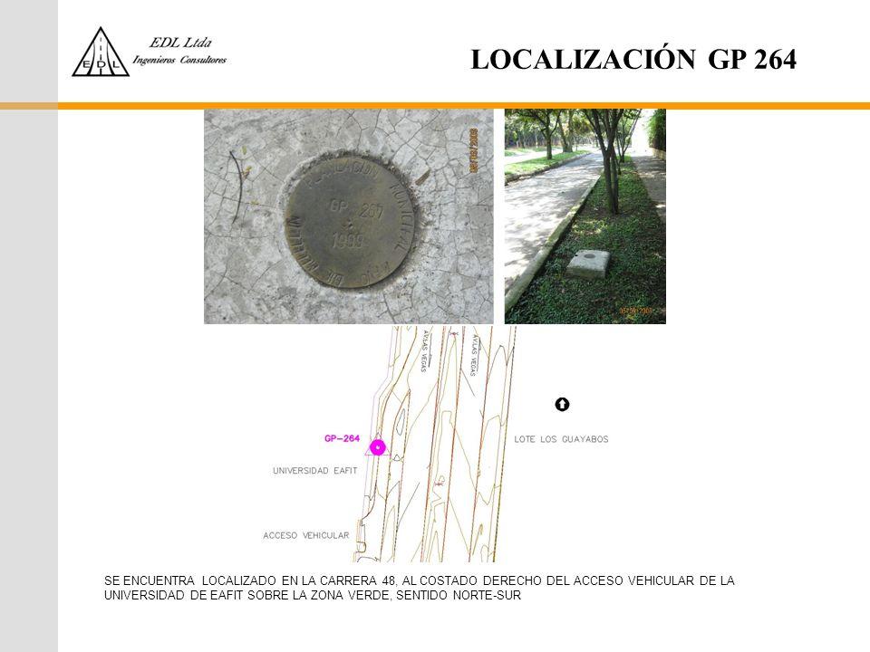 LOCALIZACIÓN GP 264