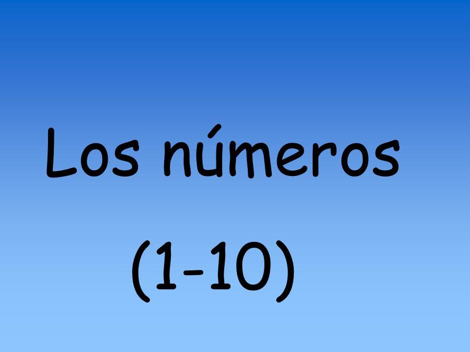 Los números (1-10)