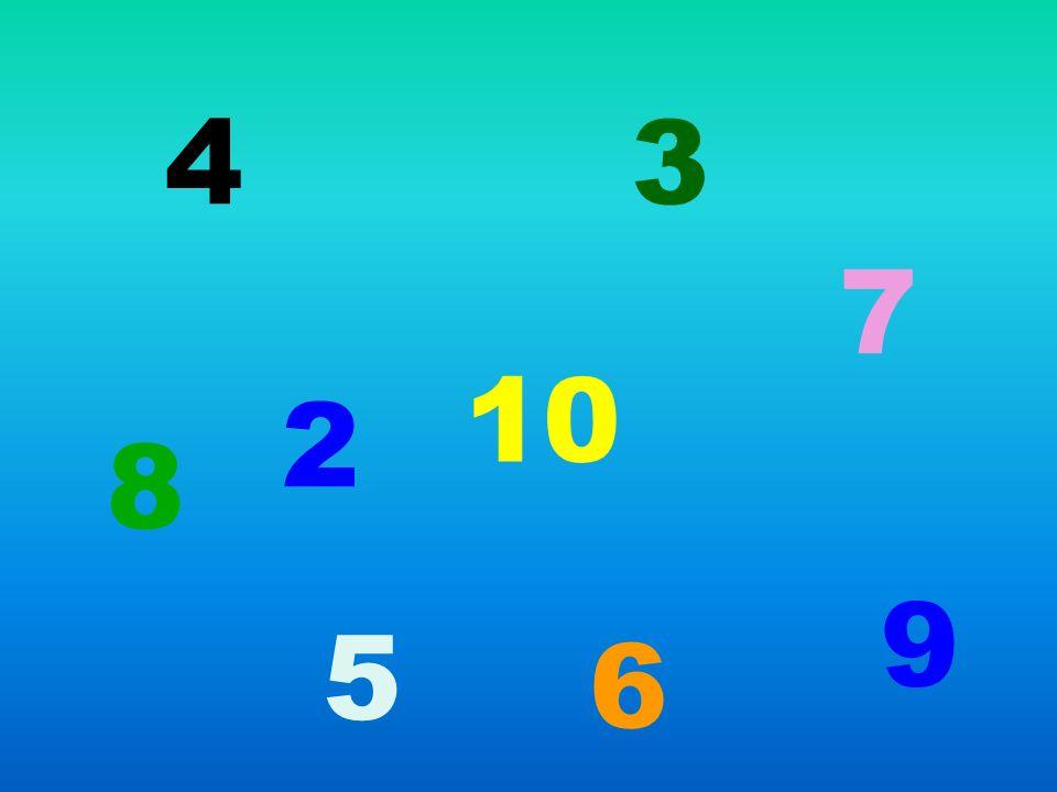 4 3 7 10 2 8 9 5 6