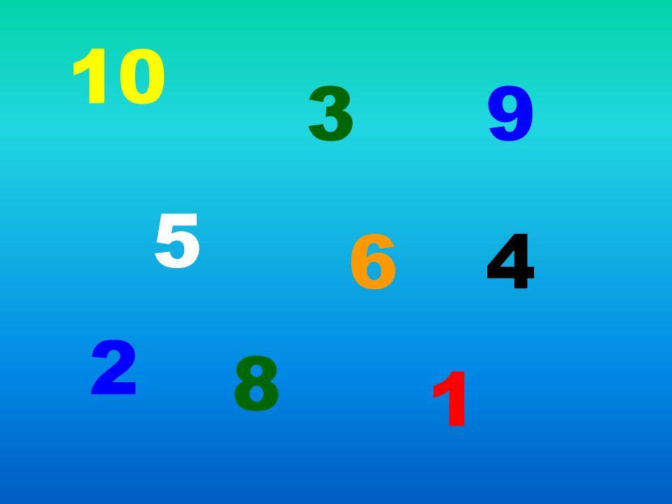 10 3 9 5 6 4 2 8 1