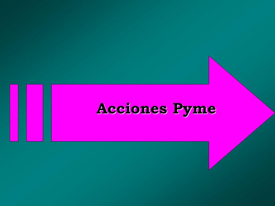 Acciones Pyme