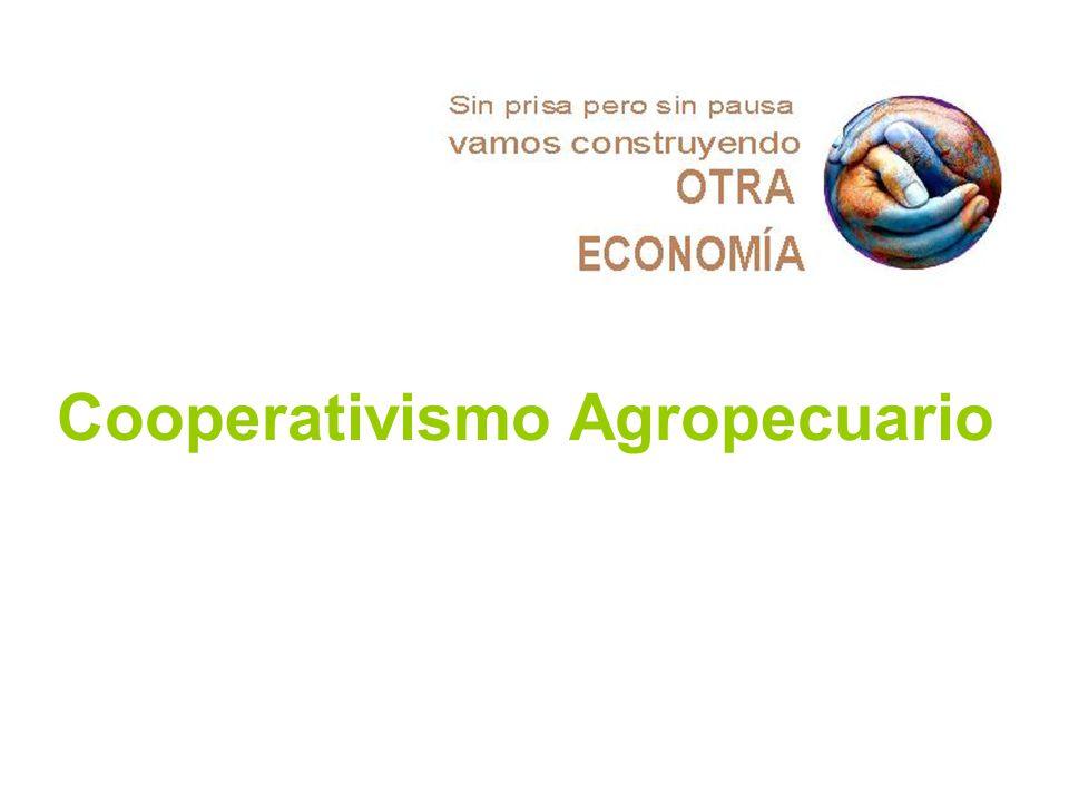 Cooperativismo Agropecuario
