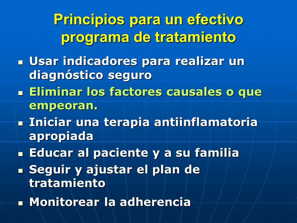 Principios para un efectivo programa de tratamiento