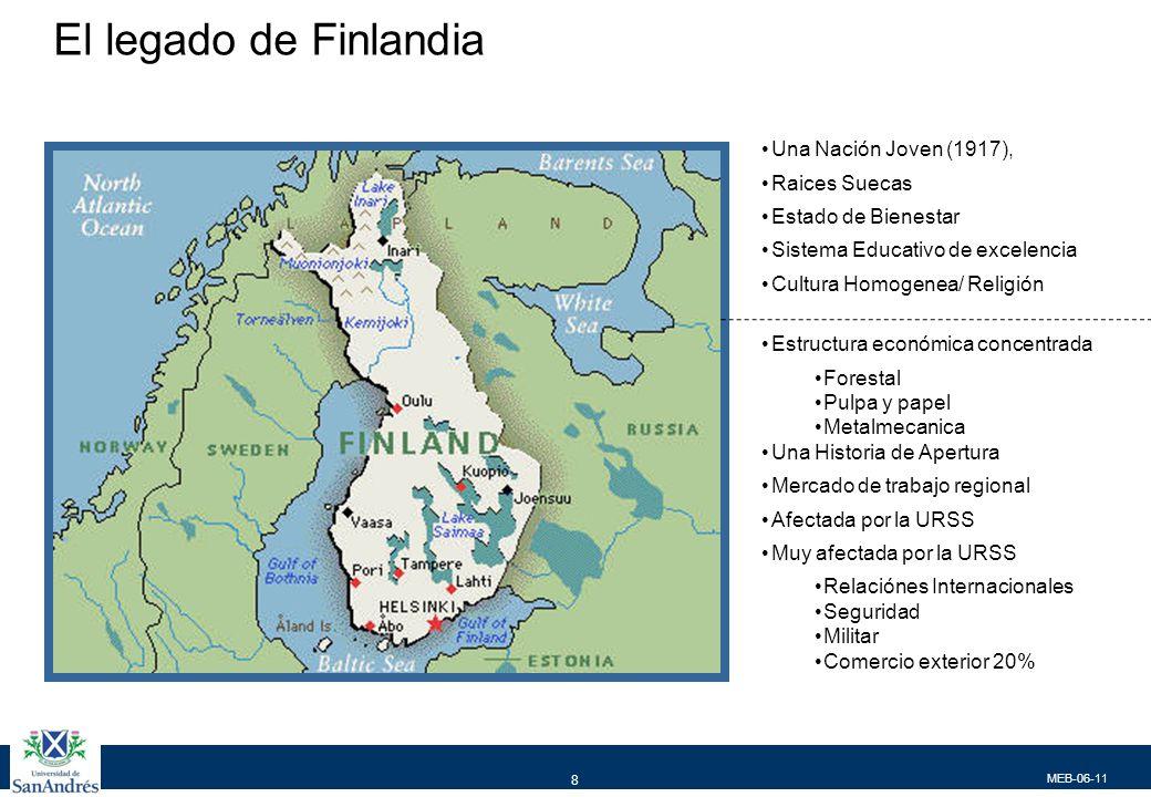 A lo largo de su historia Finlandia supo construir algunos activos clave para su posterior desarrollo
