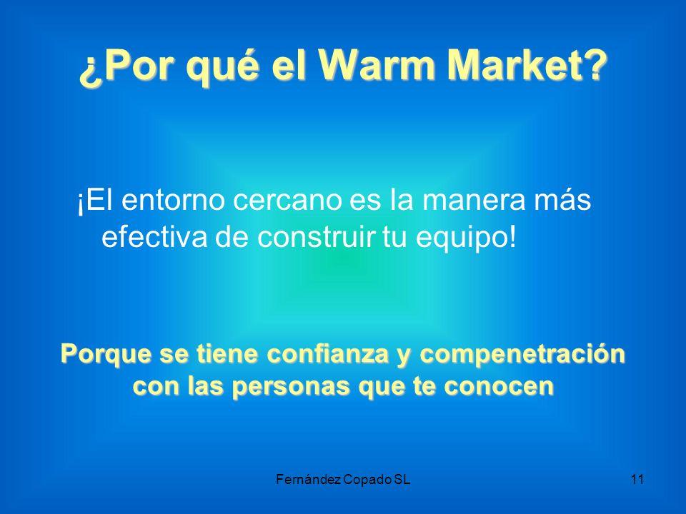 ¿Por qué el Warm Market ¡El entorno cercano es la manera más efectiva de construir tu equipo!