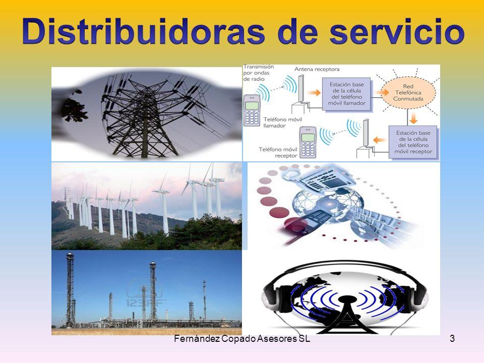 Distribuidoras de servicio