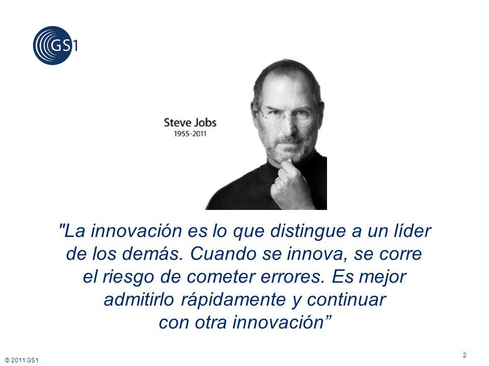 La innovación es lo que distingue a un líder de los demás