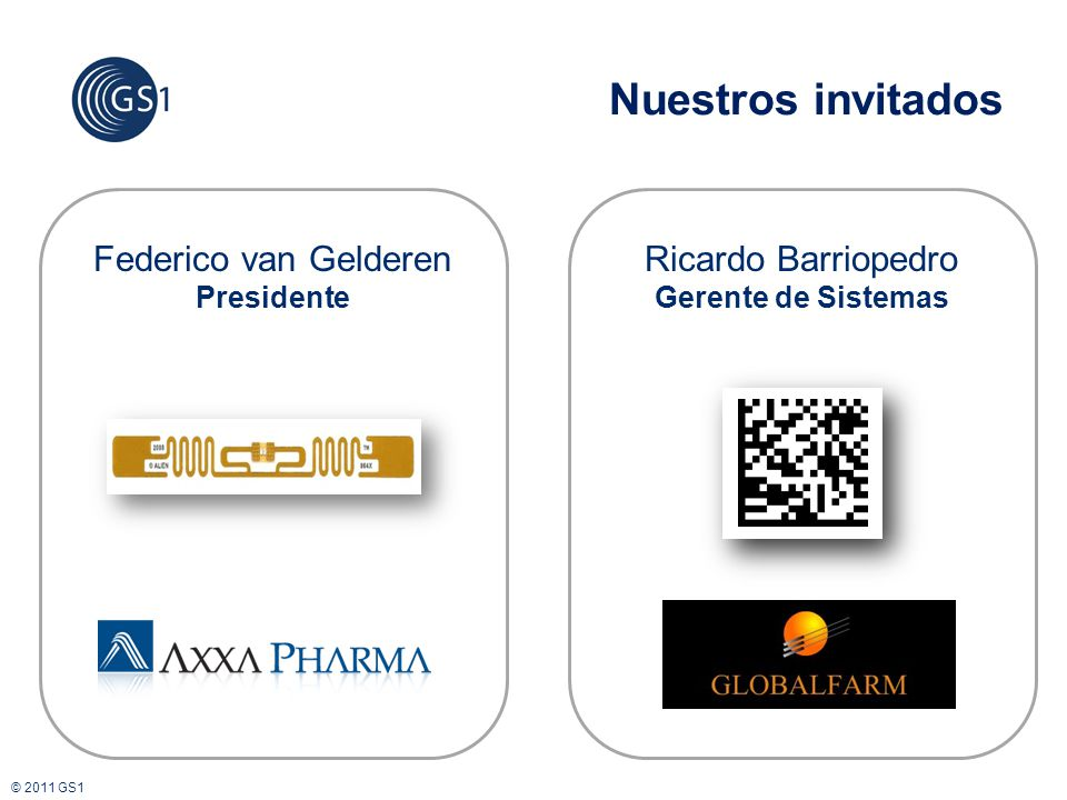 Nuestros invitados Federico van Gelderen Ricardo Barriopedro