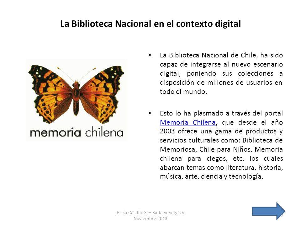 La Biblioteca Nacional en el contexto digital