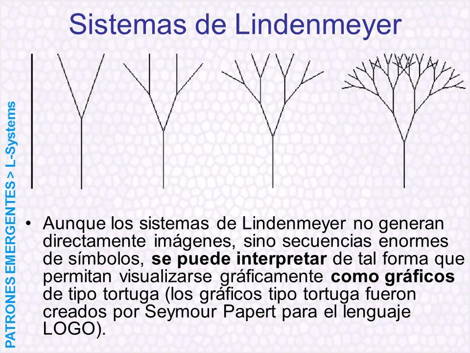 Sistemas de Lindenmeyer