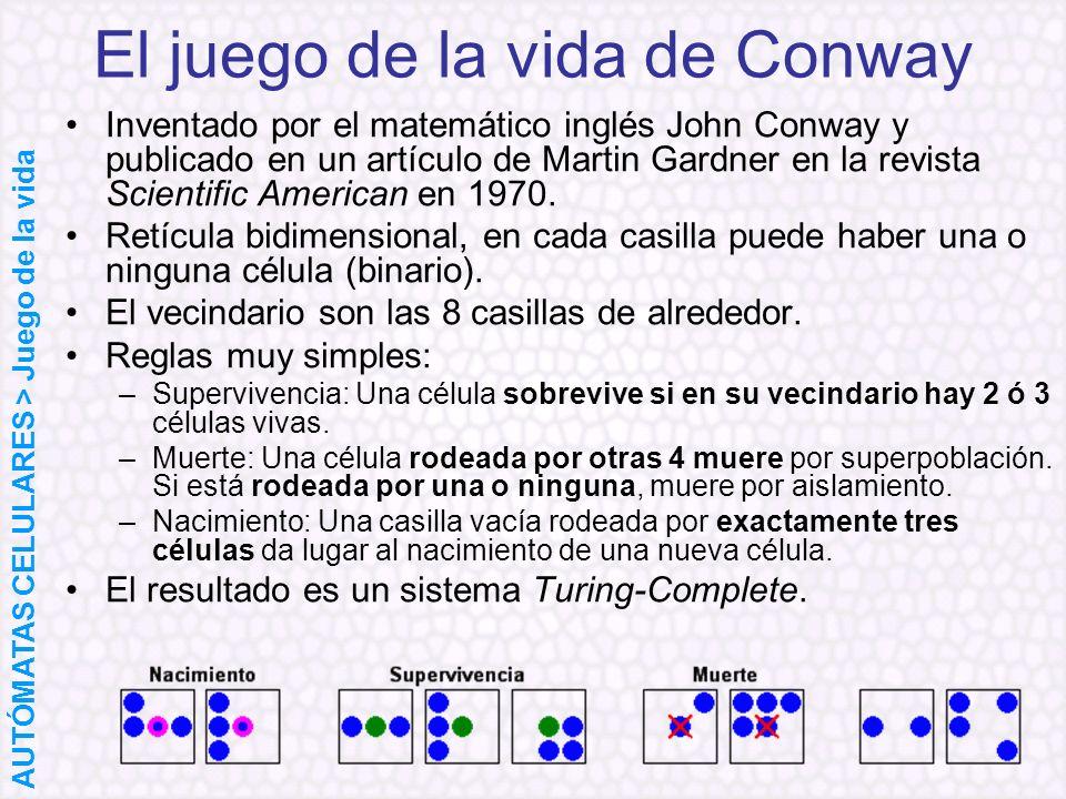 El juego de la vida de Conway
