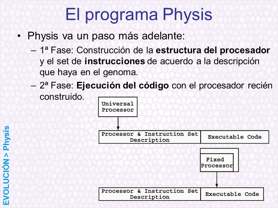 El programa Physis Physis va un paso más adelante: