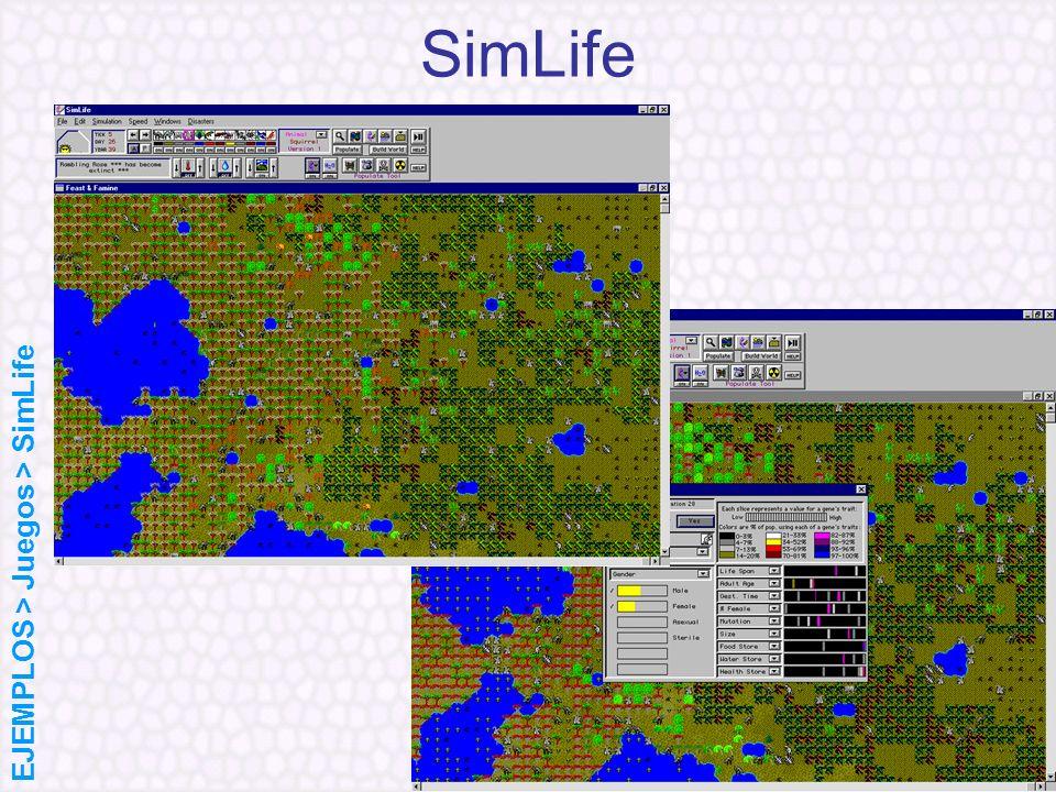 SimLife EJEMPLOS > Juegos > SimLife