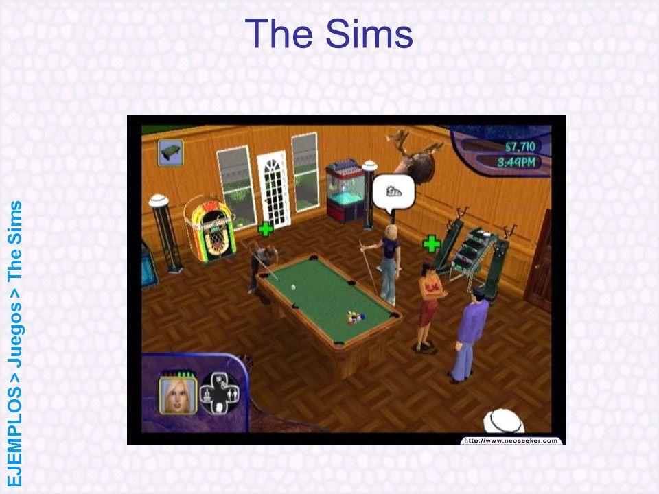 The Sims EJEMPLOS > Juegos > The Sims