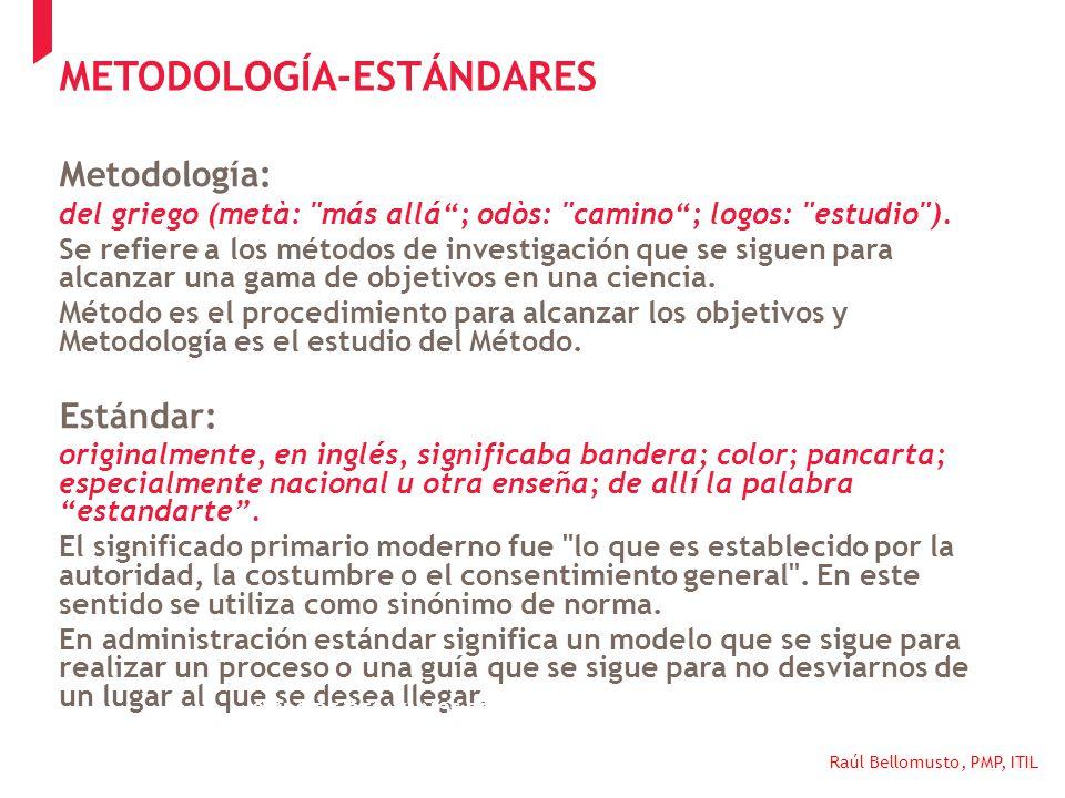 METODOLOGÍA-ESTÁNDARES