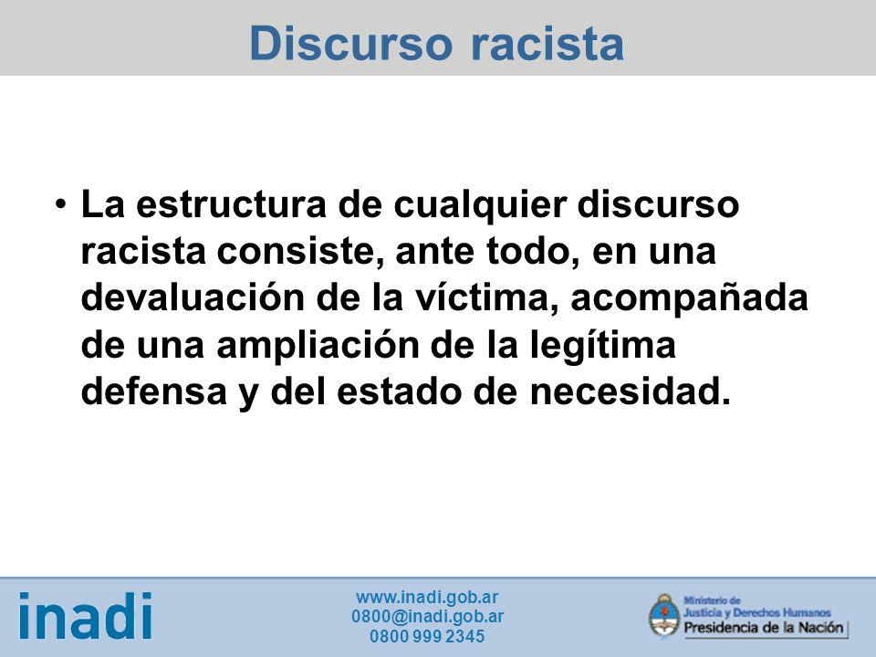 Discurso racista