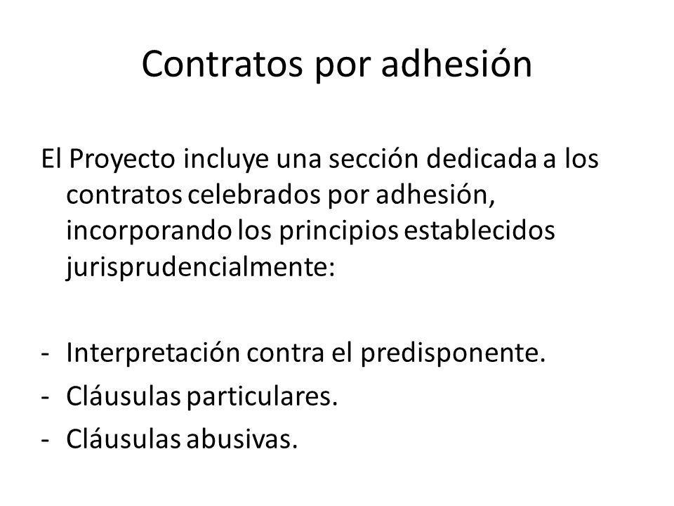 Contratos por adhesión