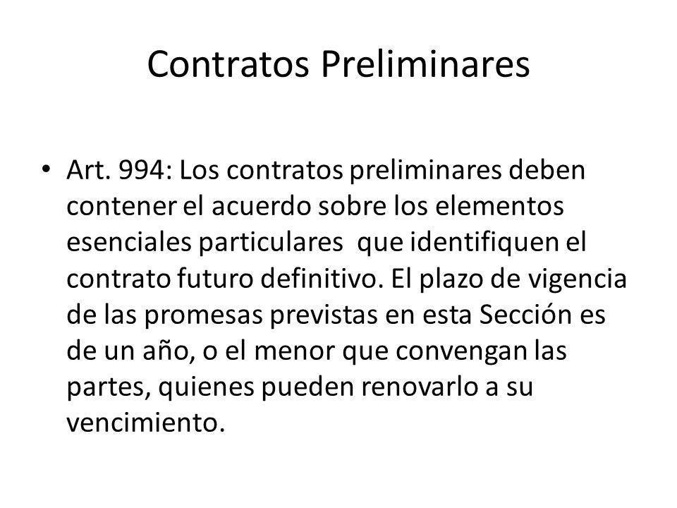Contratos Preliminares