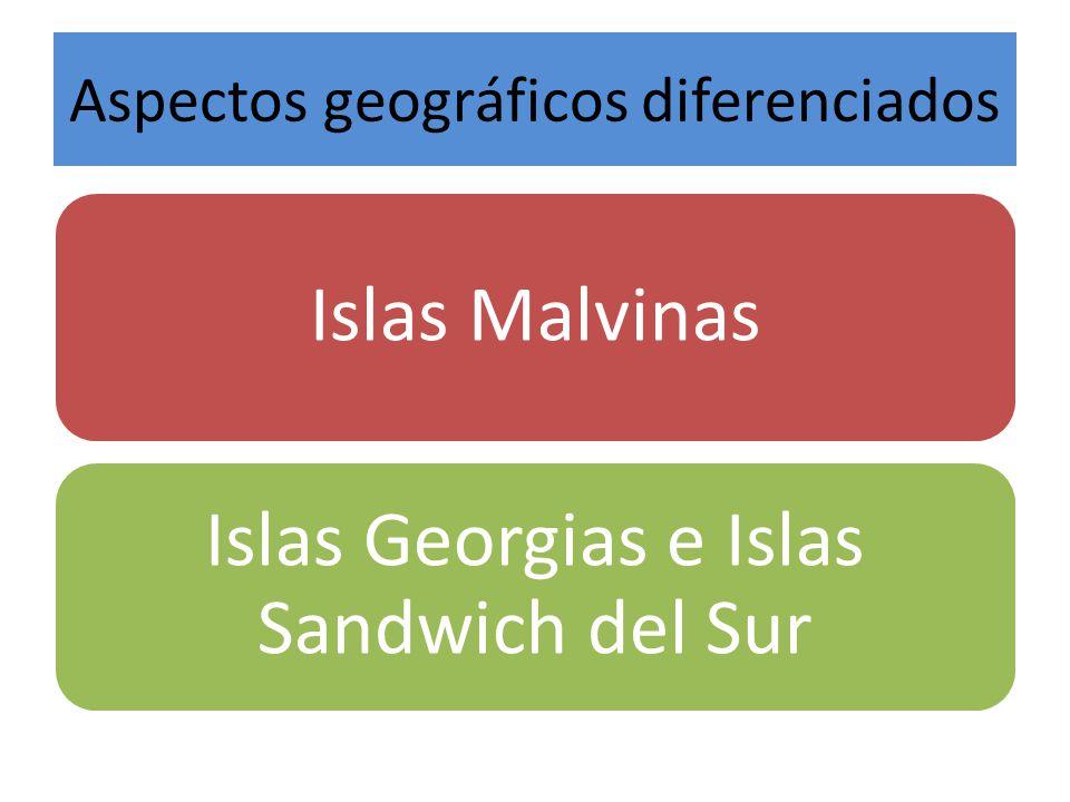 Aspectos geográficos diferenciados