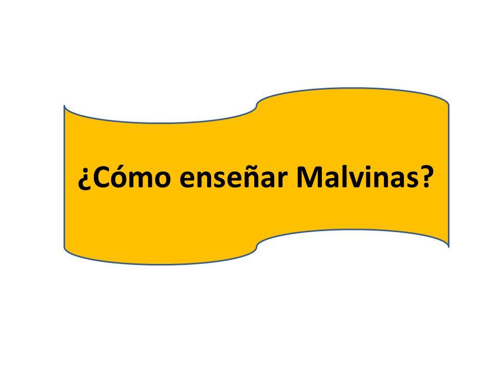 ¿Cómo enseñar Malvinas