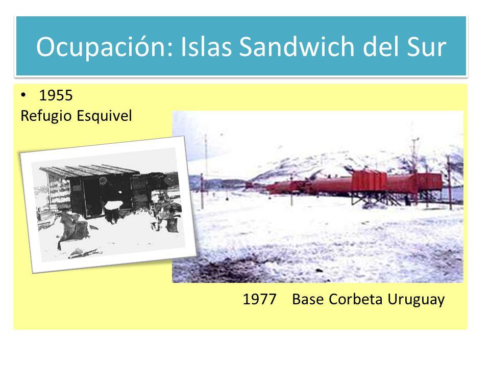 Ocupación: Islas Sandwich del Sur