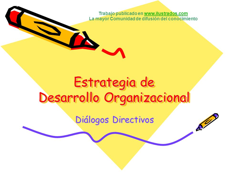 Estrategia de Desarrollo Organizacional