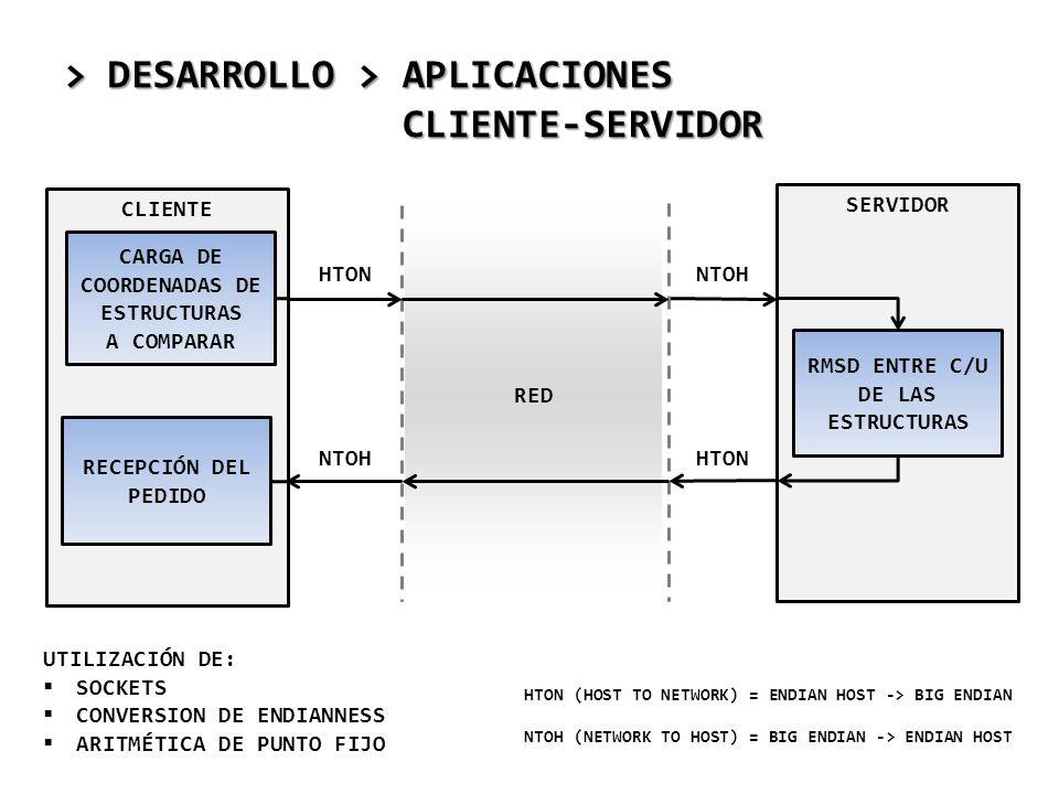 > DESARROLLO > APLICACIONES CLIENTE-SERVIDOR
