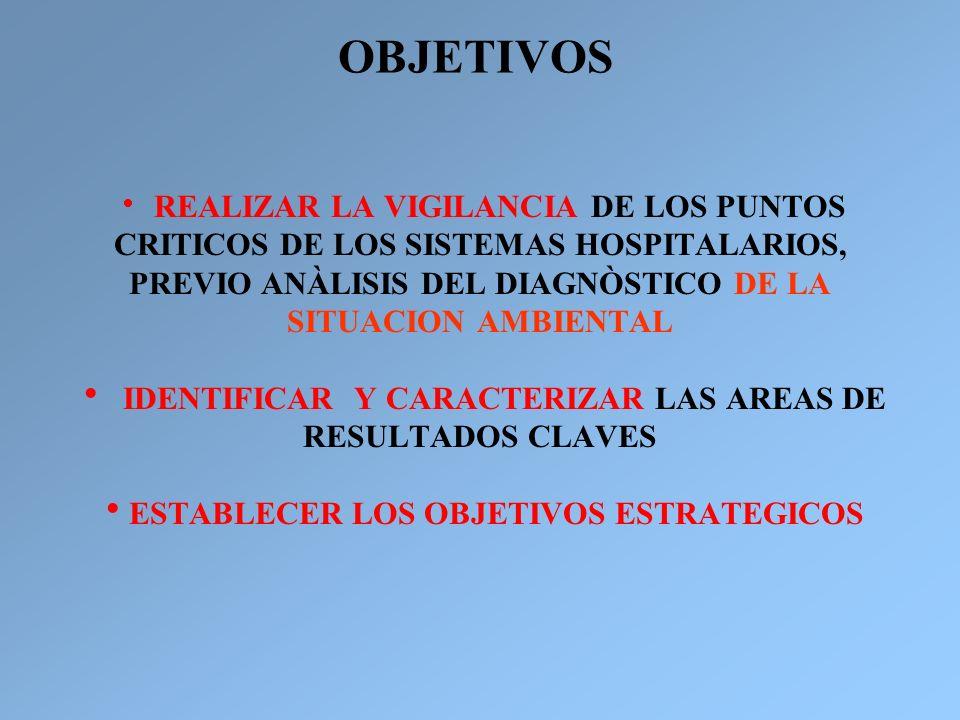 OBJETIVOS IDENTIFICAR Y CARACTERIZAR LAS AREAS DE RESULTADOS CLAVES
