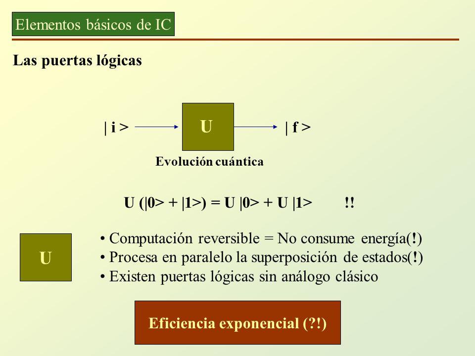 Eficiencia exponencial ( !)