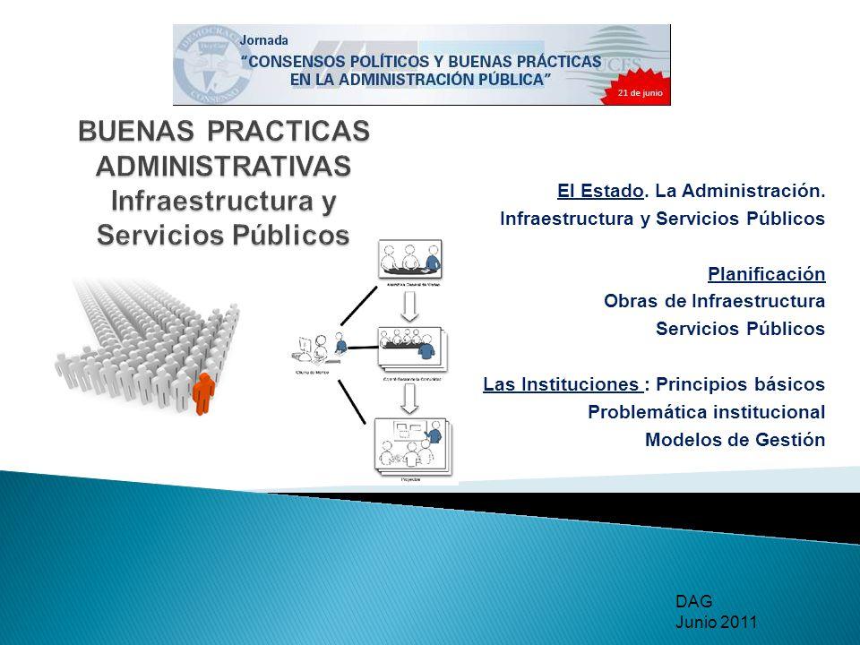 BUENAS PRACTICAS ADMINISTRATIVAS Infraestructura y Servicios Públicos
