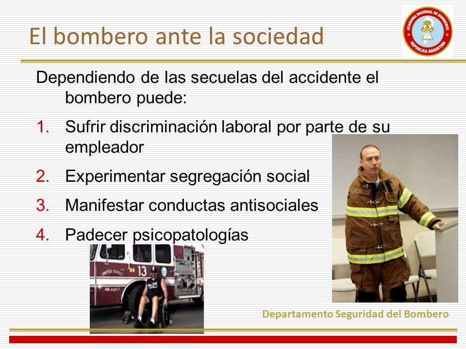 El bombero ante la sociedad